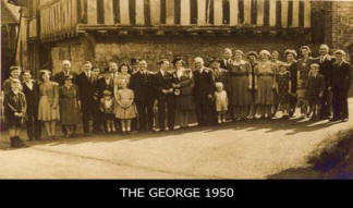 The George Pub in Leeds 1950