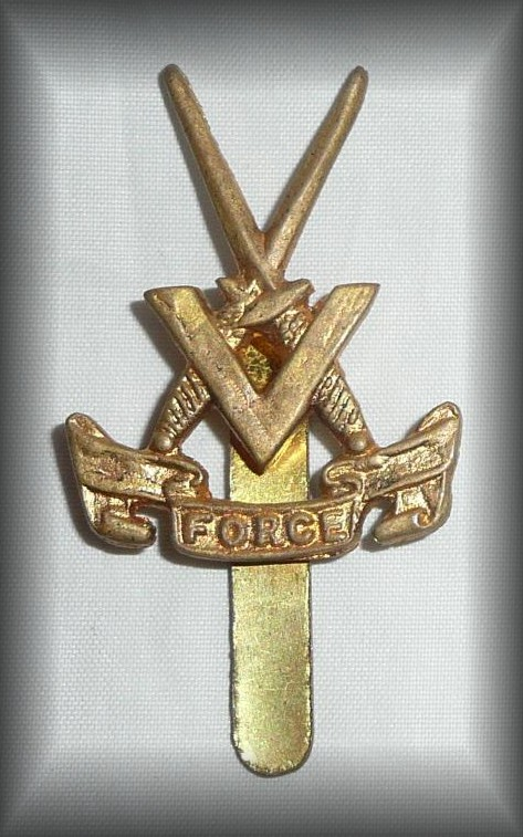 V Force Badge